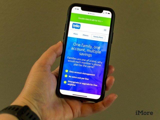Tello Logo On Iphone