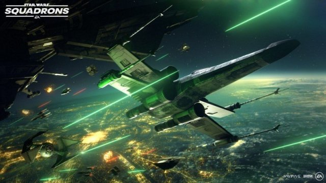 Star Wars Squadrons Lasers
