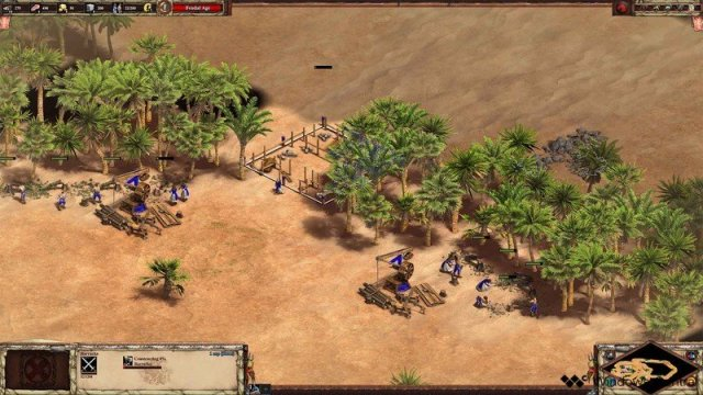 Age Of Empires II Scout Rush Barracks