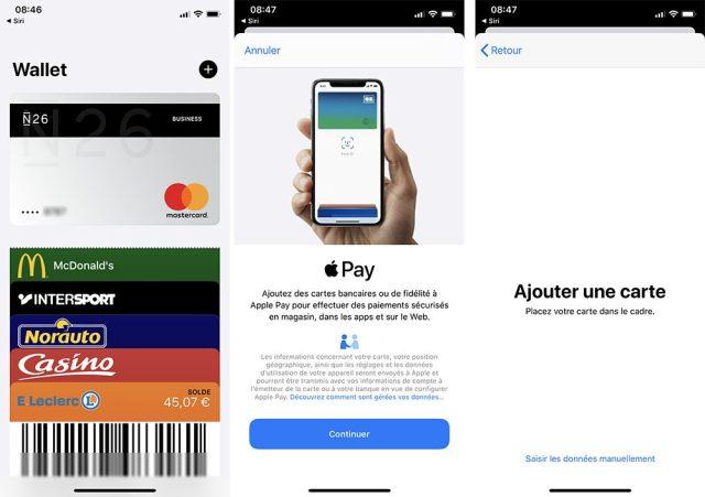 iphone ajouter carte apple pay 1 Comment ajouter une carte et utiliser Apple Pay sur iPhone, Apple Watch, Mac et iPad