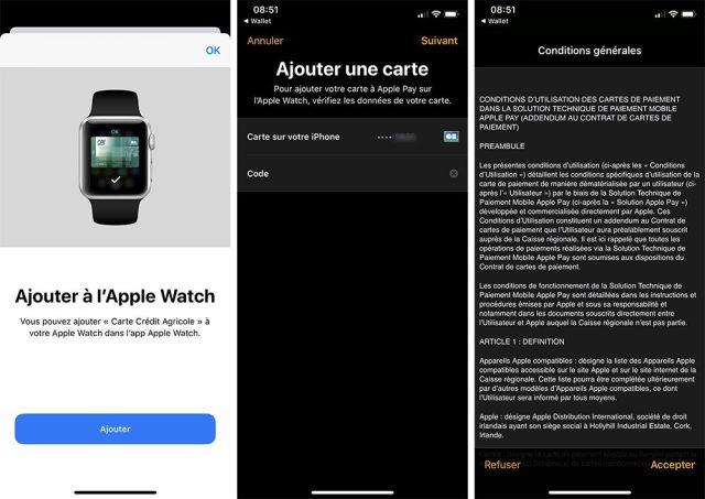 iphone apple watch ajouter carte apple pay 1 Comment ajouter une carte et utiliser Apple Pay sur iPhone, Apple Watch, Mac et iPad