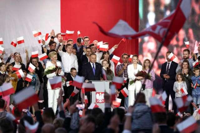 Le président Andrzej Duda, le 12 juillet.
