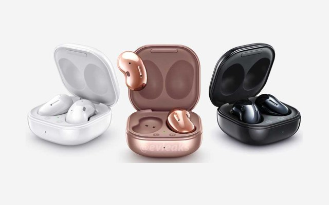 Samsung Galaxy Buds Live Case Colors Black White Mystic Bronze