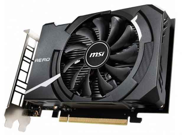 GeForce GTX 1650 Aero 4G OCV1
