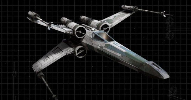Star Wars Squadrons X Wing