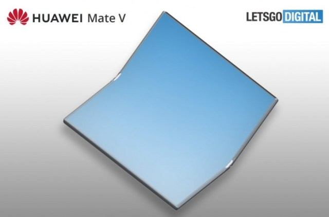 Huawei Mate V may be on its way, folding inwards