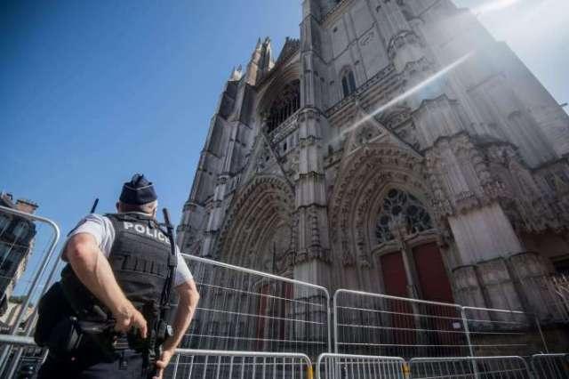 L'incendie s'est déclaré le 18 juillet dans la cathédrale de Nantes.