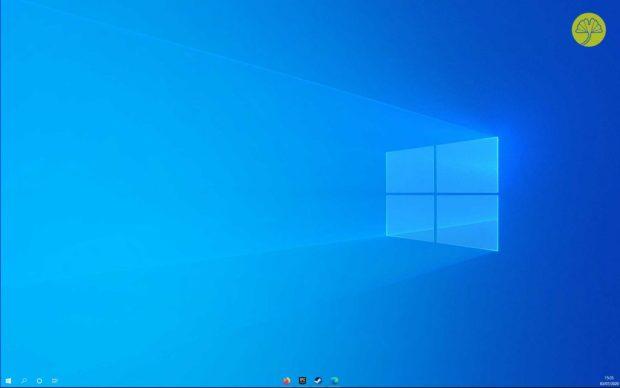 Windows 10 et la barre des tâches avec effet transparence et centrage des icônes