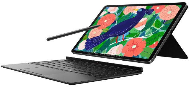 Samsung Galaxy Tab S7 With S Pen And Keyboard Cover