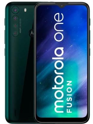 Motorola One Fusion in Emerald Green color