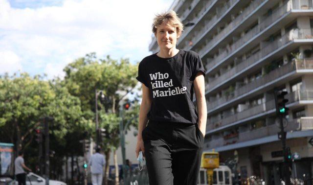 Paris, dimanche 26 juillet 2020.Après la tempête de haine de ce week-end sur les réseaux sociaux, Alice Coffin a accepté une protection policière. LP/Olivier Arandel