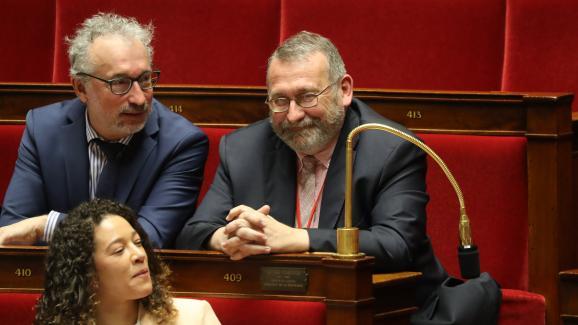 Le député LREM Joël Giraud (à droite) est nommé secrétaire d\'Etat chargé de la Ruralité.