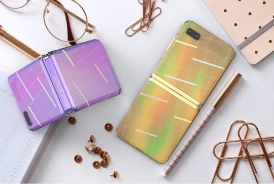Samsung Galaxy Z Flip Custom Skin Service South Korea
