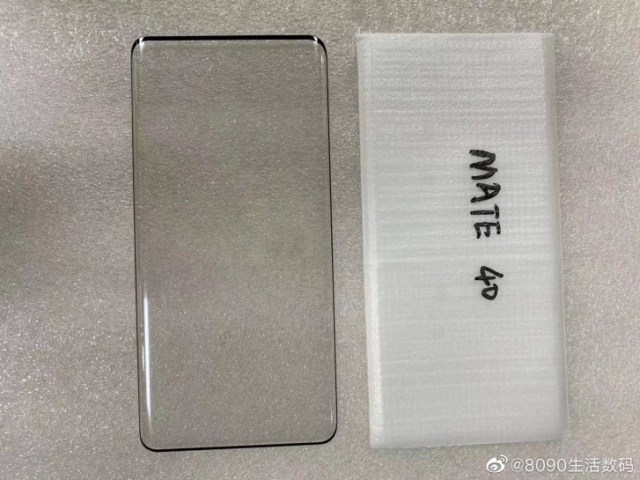 The Huawei Mate 40 could have a curved screen, like the Mate 40 Pro
