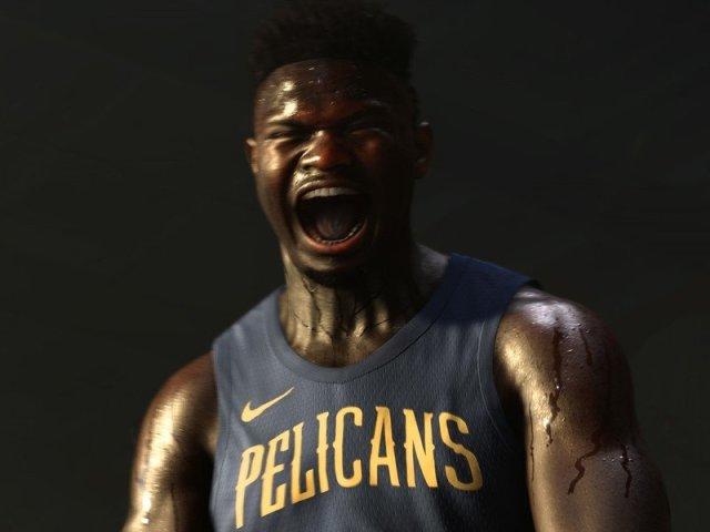 Zion Williamson in NBA 2K21