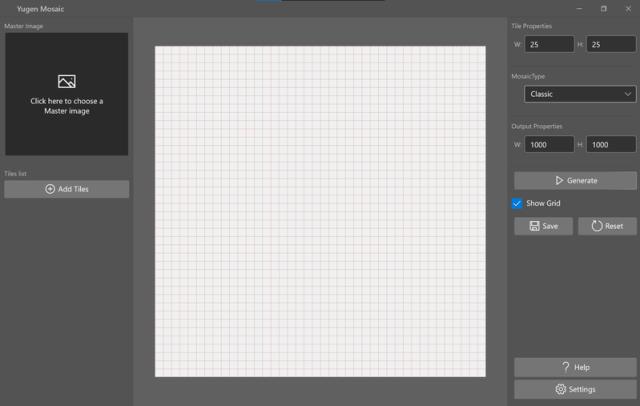 Yugen Mosaic Interface