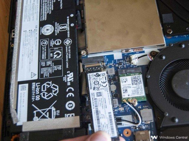 Remove the SSD