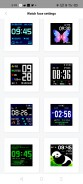 Custom watch faces available on Amazfit's official app