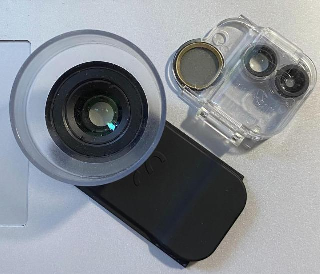 Comparing a ProLens and the standard lens module
