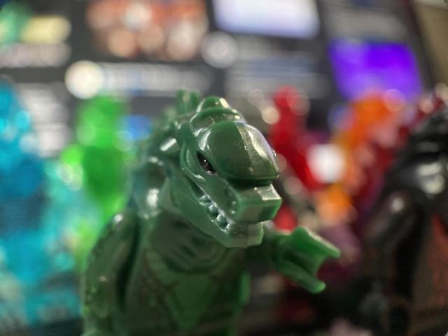 Godzilla minifigs