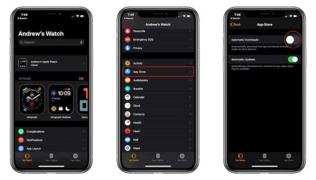 Enable Automatic Downloads for Apple Watch