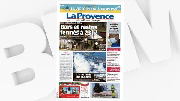 """La une de """"La Provence"""", le 26 août 2020."""