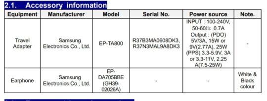 Samsung Galaxy M51 FCC Certification - 02