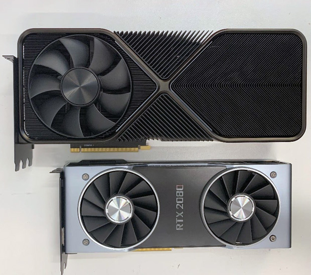 GeForce RTX 3090 Founders Edition Vs GeForce RTX 2080 Founders Edition