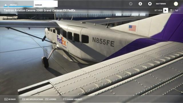 Microsoft Flight Simulator FedEx