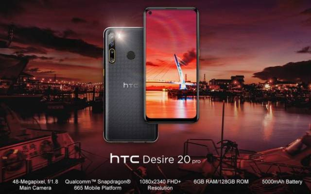 HTC Desire20 Pro
