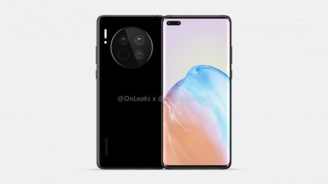 Huawei Mate 40 renders showcase gigantic circular camera bump