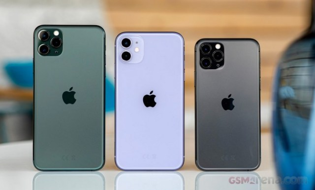 Apple iPhone 11 Pro Max, 11, and 11 Pro