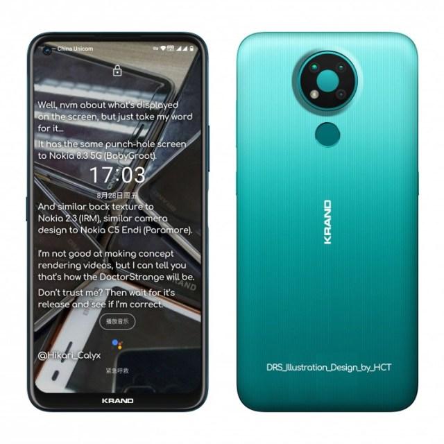 Nokia 3.4 renders and specs leak