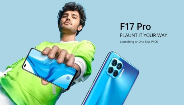 Oppo F17 Pro officially arriving on September 2