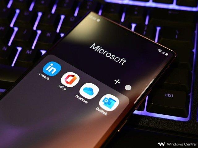 Samsung Galaxy Note 20 Ultra Microsoft Apps