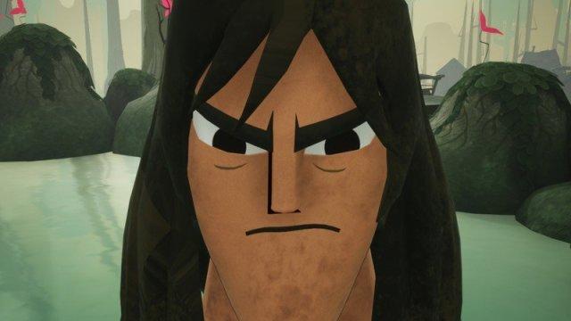 Samurai Jack Battle Through Time Hair Down