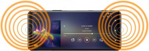 Sony Xperia 5 II display highlights