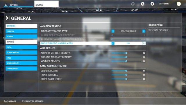 Microsoft Flight Simulator Nameplate