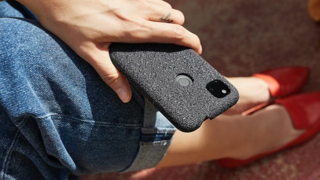 The Pixel 4a fabric cases are made from recycled materials, they are machine washable to boot