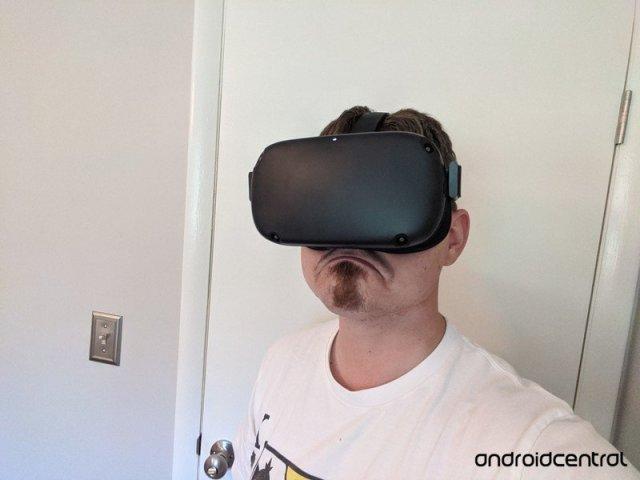 Oculus Quest Sadface