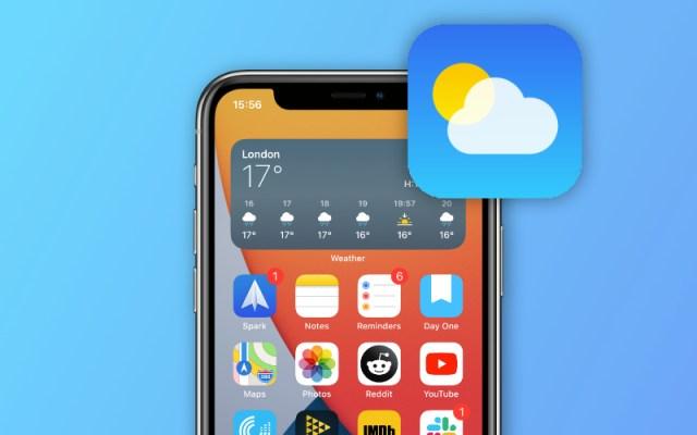 Weather Widget not working on iPhone Home screen