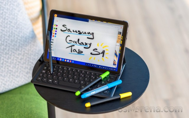 AT&T's Samsung Galaxy Tab S4 also gets Android 10 update