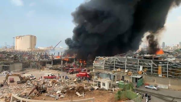 L'incendie ce 10 septembre s'est déclaré juste à côté de l'endroit d'où étaient parties les explosions du 4 août.