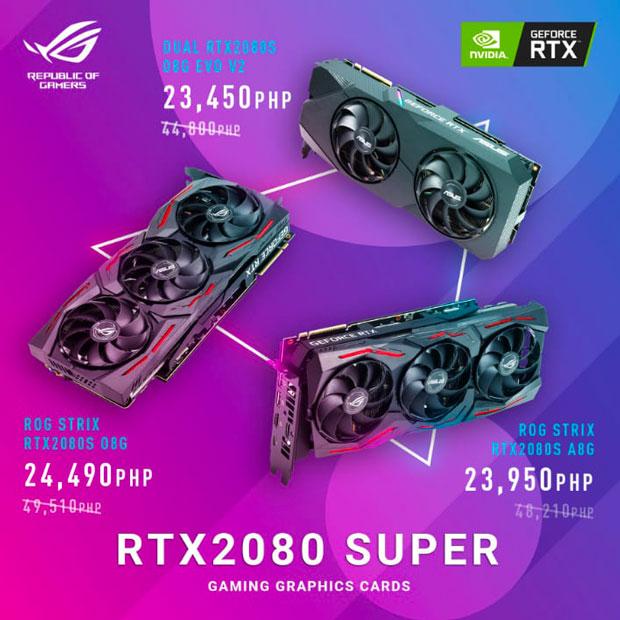 GeForce RTX 2080 Super - baisse de prix