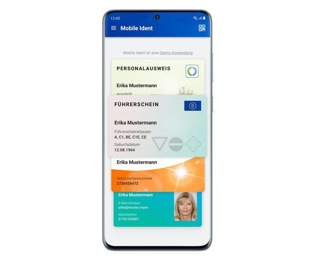 Germany National Electronic ID Samsung Galaxy S20