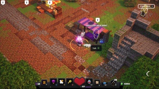 Minecraft Dungeons Mystery Merchant