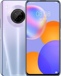 Huawei Y9a in Space Silver color