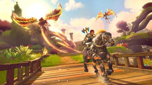 Immortals Fenyx Rising Harpy Horseback