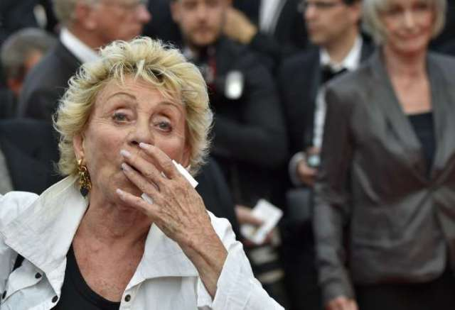 Annie Cordy, le 18 mai 2016, au Festival de Cannes.