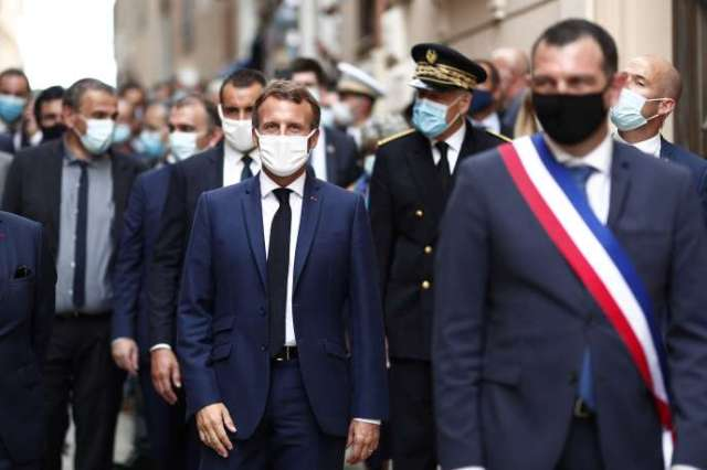 Les dirigeants des sept pays européens de la Méditerranée (France, Italie, Espagne, Portugal, Grèce, Malte et Chypre) réunis à Bonifacio, Corse, le 10 septembre.